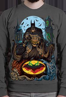 Свитшот Arkham Detective  SW (Batman)