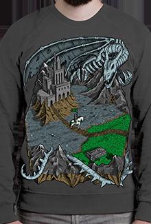 Свитшот Necropolis SW (Homm3)