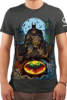 Футболка Arkham Detective (Batman)