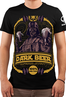 Футболка Darth Stout (Star Wars)