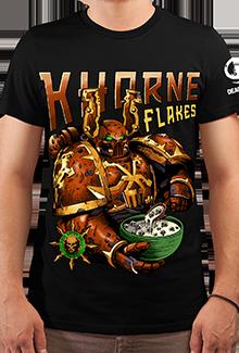 Футболка Khorne Flakes (Warhammer 40к)