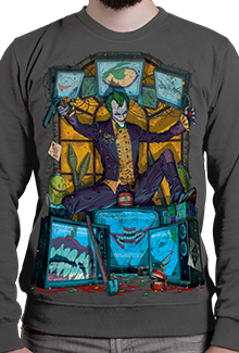 Свитшот Joke Or Death SW (Batman)