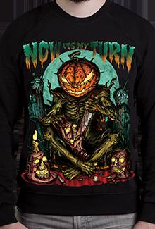 Свитшот Hell Pumpkin SW (Dead Brush Freepaint)