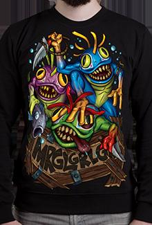 Свитшот MRGL! SW (Warcraft)