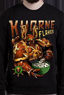 Свитшот Khorne Flakes SW (Warhammer 40к)