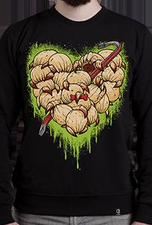 Свитшот Headcrab Heart SW (Half-life)