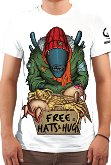 Футболка Hats And Hugs HD (DB Games Series)