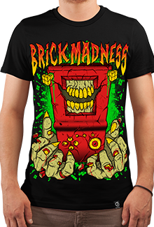 Футболка Brick Madness (DB Games Series)