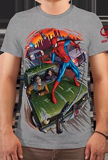 Футболка Chase and Web (Marvel)