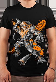 Футболка Orange Fury (Черепашки ниндзя)