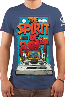 Футболка Spirit Of 8BIT (DB Games Series)