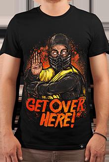 Футболка GET OVERE HERE! (Mortal Kombat)
