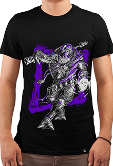 Футболка Violet Fury (Черепашки ниндзя)