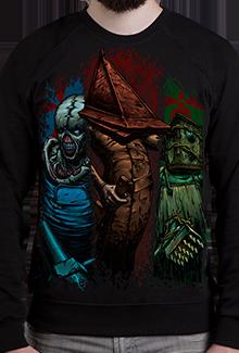 Свитшот Horror Idols SW (Silent Hill)