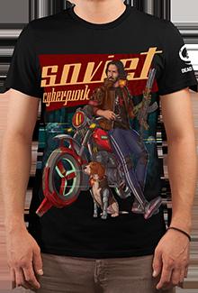 Футболка Soviet Cyberpunk (Cyberpunk 2077)