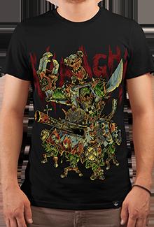 Футболка DA WAAAGH! (Warhammer 40к)