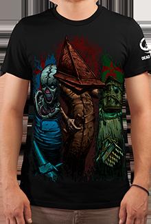 Футболка Horror Idols (Silent Hill)