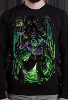 Свитшот Blindness and Curse SW (Warcraft)