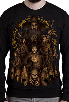 Свитшот Gandalf Gang SW (Властелин Колец)