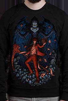 Свитшот Death Note SW (Тетрадь Смерти)