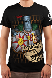 Футболка Praise The  Sun (Dark Souls)