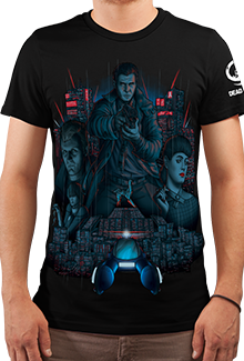 Футболка Blade Runner (Бегущий по лезвию)