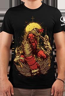Футболка Hell Yeah! (Hellboy)